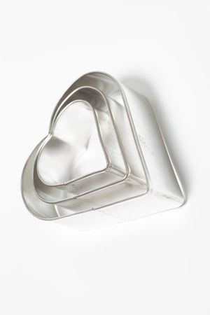 cookie cutters on white background Stock Photo - 5926135