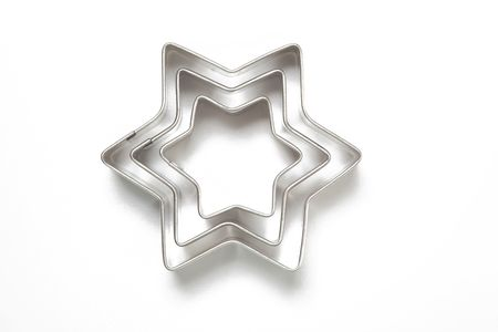 cookie cutters on white background Stock Photo - 5926139