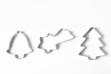 cookie cutters on white background Stock Photo - 5926169