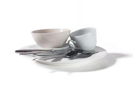kitchenware isolated on white background photo