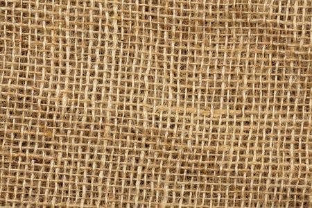 photo shot of jute texture