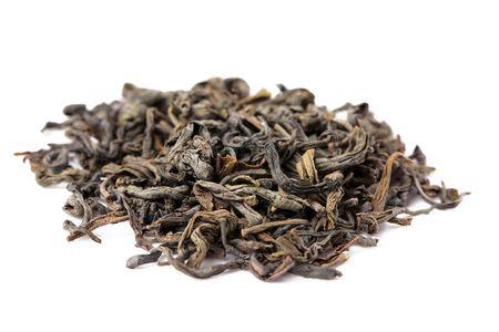 green leafs: the photo shot of green tea