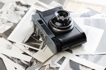 analogue: the russian analogue photo camera Stock Photo