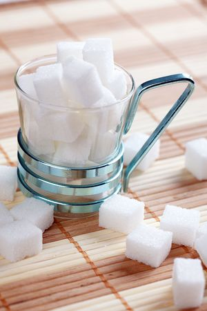 sucrose: the sugar cube in the cup
