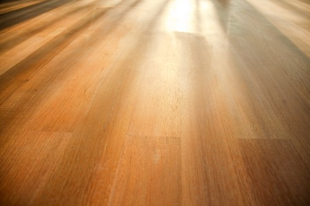 panelling: photo shot of wooden floor
