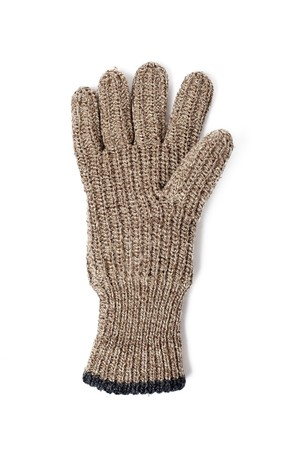 knitted gloves on white background Stock Photo - 7026356