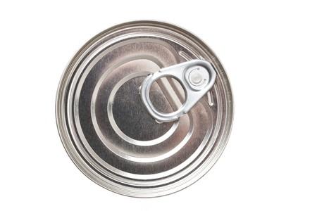 tin can on white background Stock Photo - 7026352