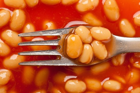 photo shot of beans with tomato souce Stock Photo - 7026394