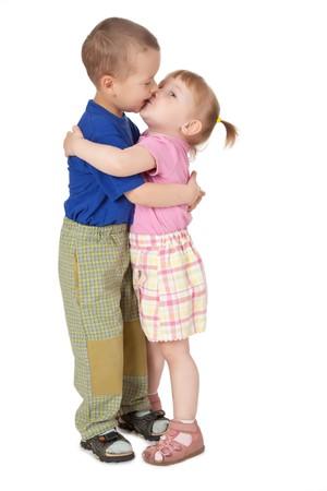 photo shot of two loving child Stock Photo - 7019988