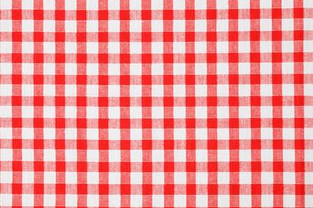 checkered tablecloth Stock Photo - 7070395