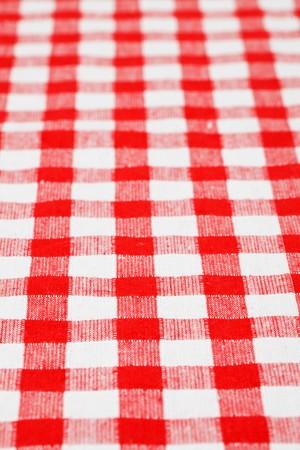 checkered tablecloth Stock Photo - 7070229