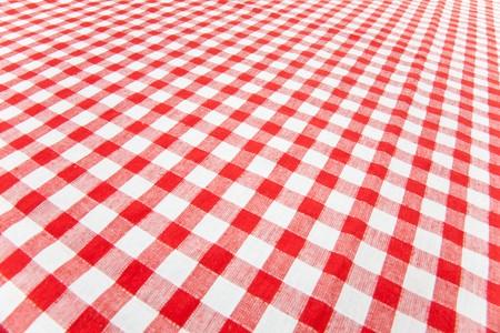 kontrolovány: checkered tablecloth