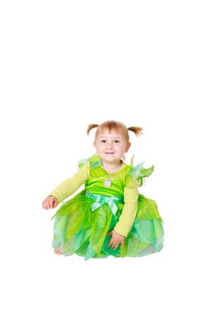 studio shot of little fairy Stock Photo - 7070018
