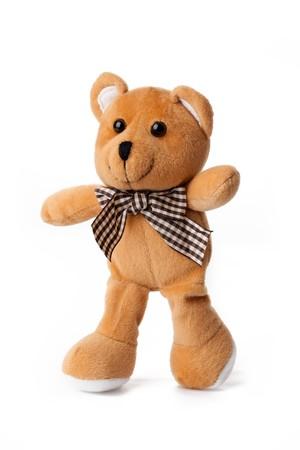 photo shot of teddy bear on white background Stock Photo - 7213374