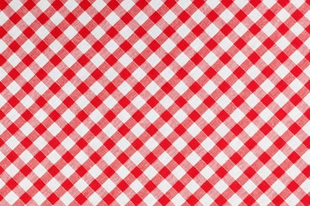 photo shot of checked fabric , tablecloth texture photo
