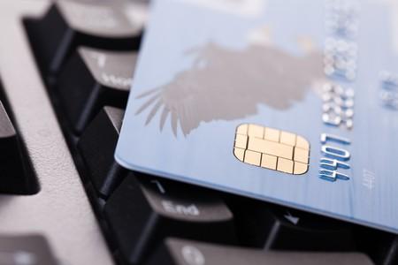 shot of credit card on computer keyboard Stock Photo - 7266571
