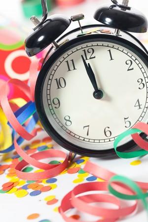 new year eve confetti: new year celebration