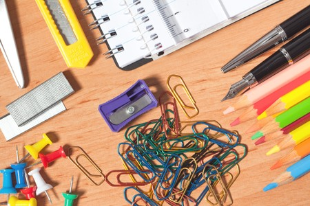 various office accessories photo