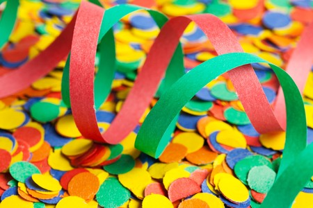 colorful confetti Stock Photo - 7570468