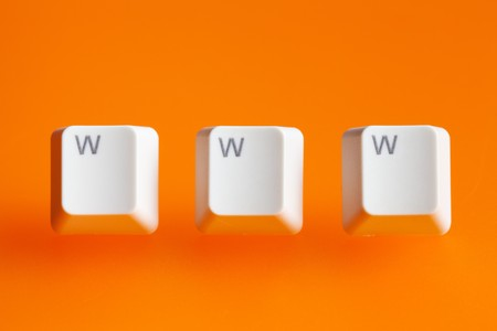 www word  making from a computer keyboard Stock Photo - 7615058