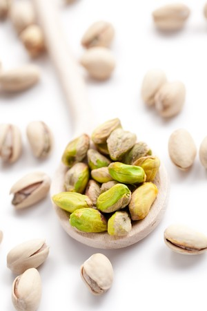 photo shot of pistachio nuts photo