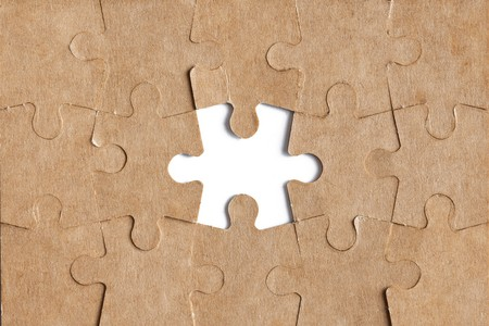 photo shot of puzzle background Stock Photo - 7792481