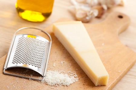 photo shot of grated Parmesan cheese Stock Photo - 7792444