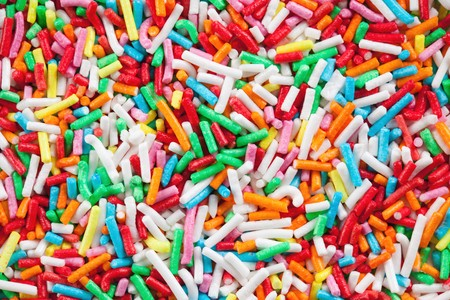 photo shot of colorful sugar sprinkles Stock Photo - 7792473