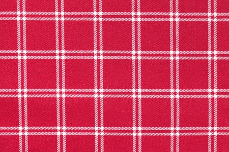 photo shot of white and red checkered pattern Stock Photo - 7792572