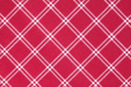 photo shot of white and red checkered pattern Stock Photo - 7792576