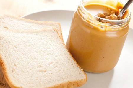 photo shot of peanut butter photo