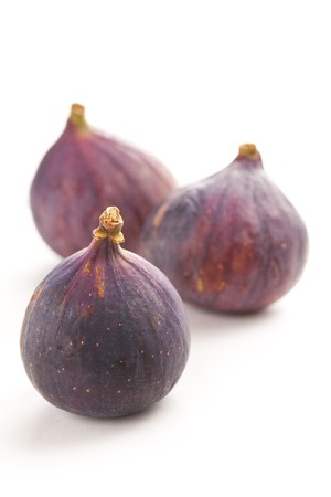 the fig fruit isolated on white background Stock Photo - 7792497
