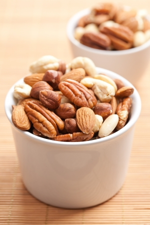 photo shot of various nuts Stock Photo - 7822877