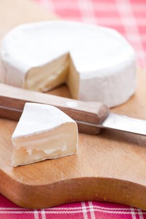 photo shot of brie cheese photo