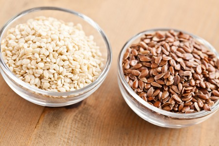 sesame and linseed photo