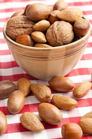 various nuts photo