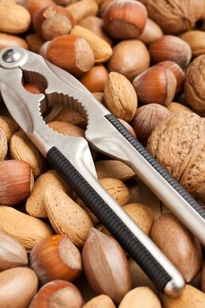 nutcracker and nuts photo