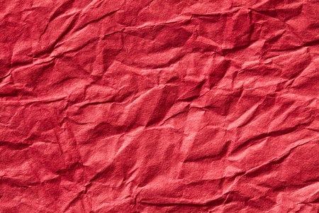 the red crumpled paper background Stock Photo - 8352078