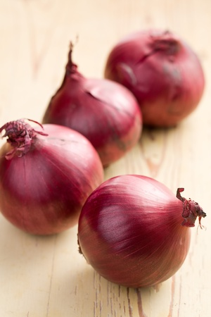aftertaste: the raw red onion in kitchen
