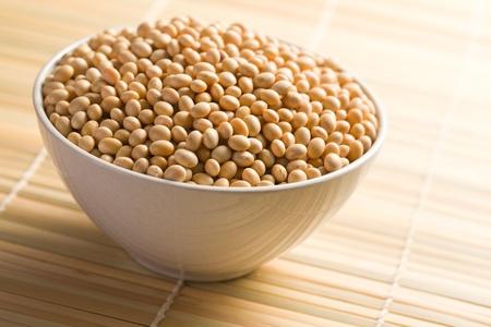 the soya beans in ceramic bowl Stock Photo - 8593123