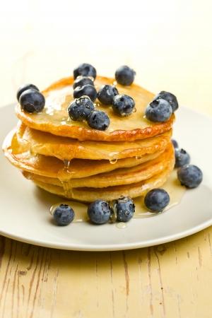 palatschinken: die leckeren Pfannkuchen mit Heidelbeeren