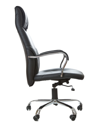 the office chair on white background