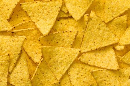 tortilla de maiz: el fondo de fichas nachos sabrosos
