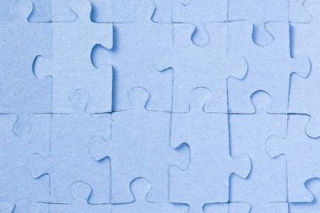 the blue jigsaw puzzle background photo