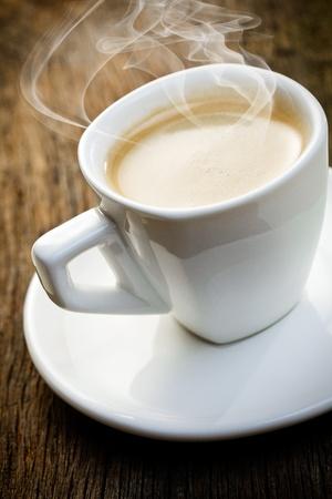 capuchino: la Copa arom�tica de espresso Foto de archivo
