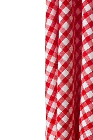 tela algodon: el fondo a cuadros blanco y rojo