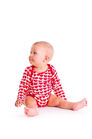 baby sit: the studio shot of baby sit