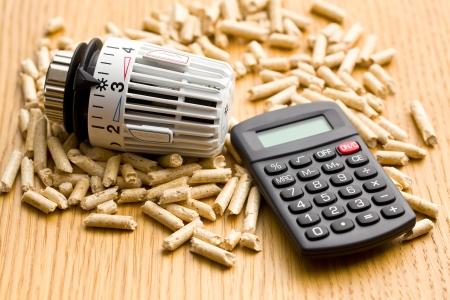 economical: the wood pellets as ecological and economical heating