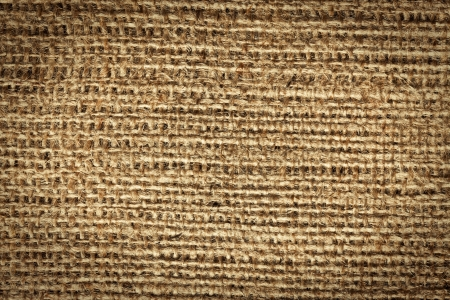 the texture of jute canvas Stock Photo - 17389346
