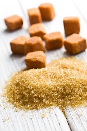 sucrose: heap of the brown sugar